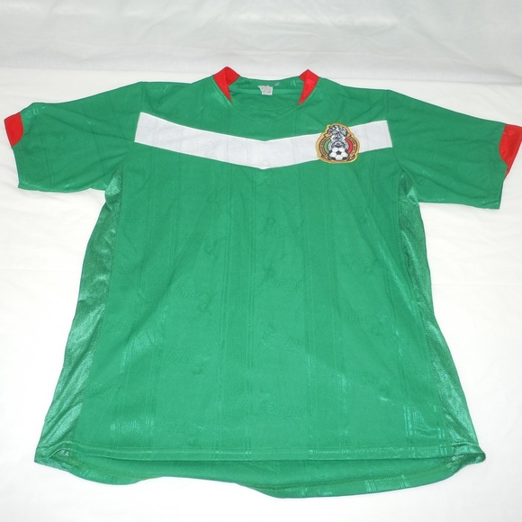 premium selection e5b6e ff640 Mexico National Team World Cup 2006 Soccer Jersey